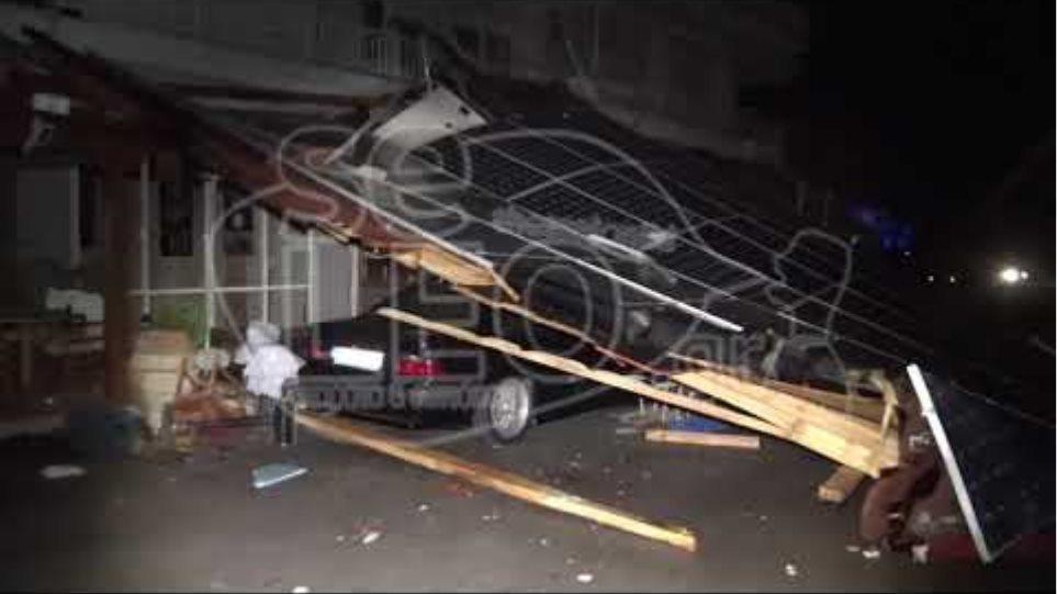 Εικόνες βιβλικής καταστροφής στη Χαλκιδική 3