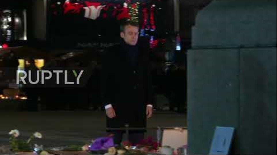 France: Macron visits reopened Christmas Market in Strasbourg