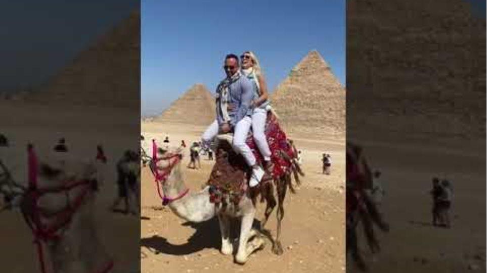 Κωνσταντίνα Σπυροπούλου: Ταξίδι στην Αίγυπτο μαζί με τον Βασίλη Σταθοκωστόπουλο