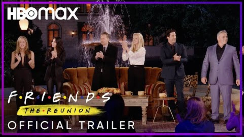 Friends: The Reunion | Official Trailer | HBO Max