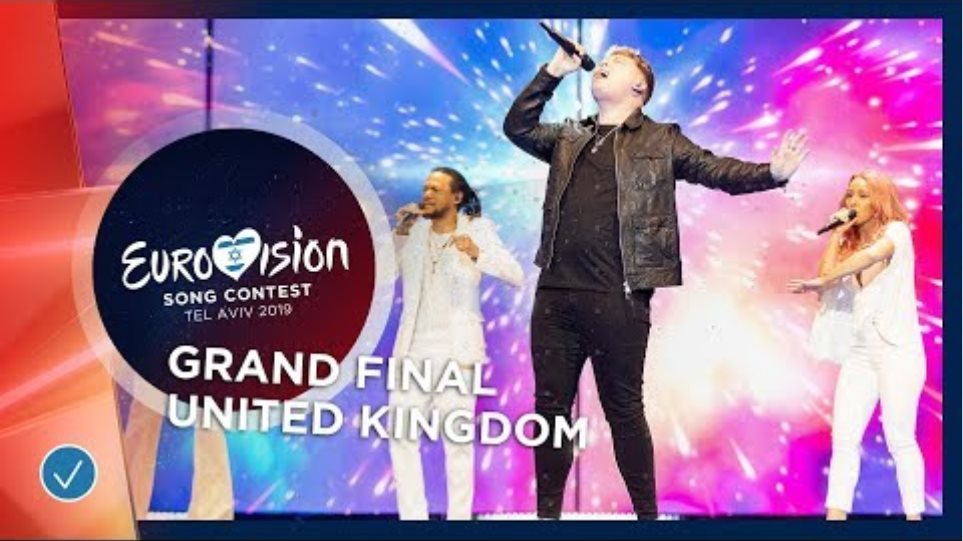 United Kingdom - LIVE - Michael Rice - Bigger Than Us - Grand Final - Eurovision 2019