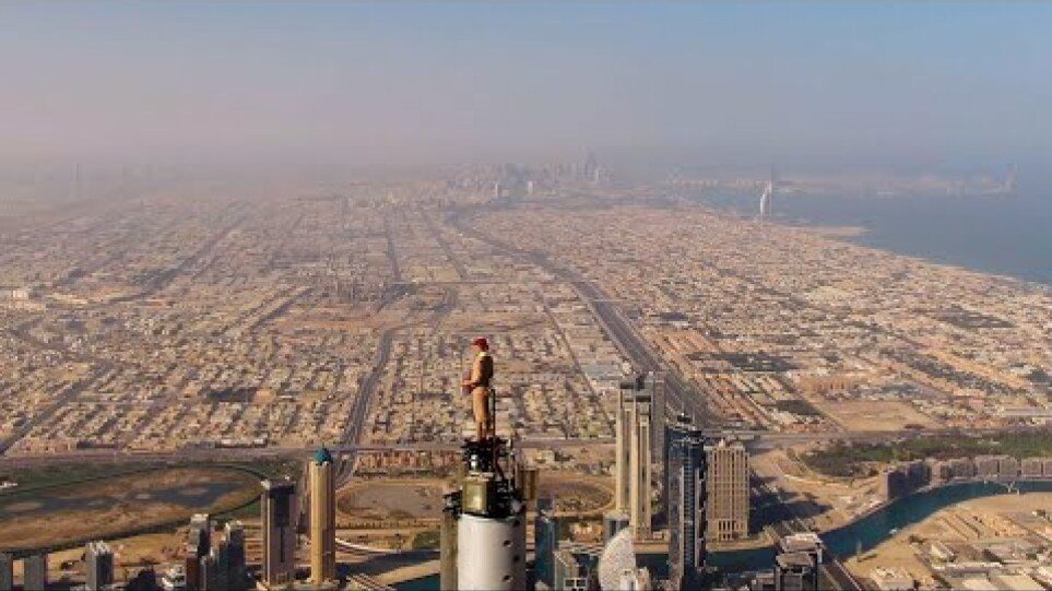 We're on top of the world | Behind the scenes | Emirates Airline
