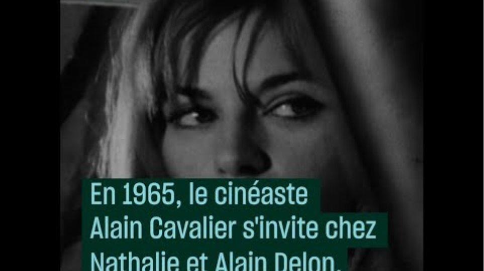 1965:  chez Alain Delon et Nathalie Delon | Archive INA - #CulturePrime
