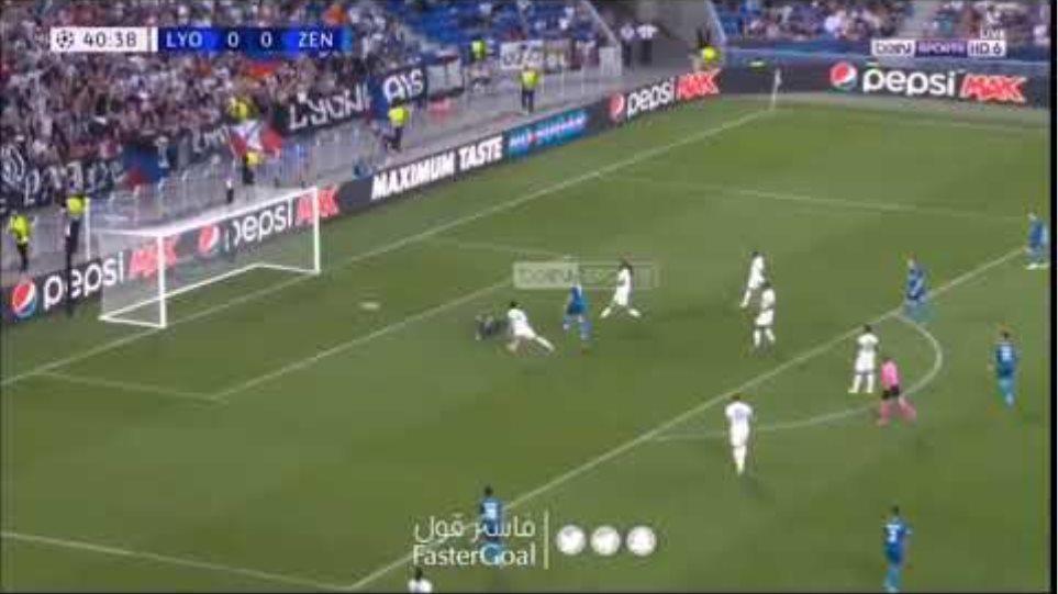 Sardar Azmoun Goal vs Lyon   17th Sep 2019