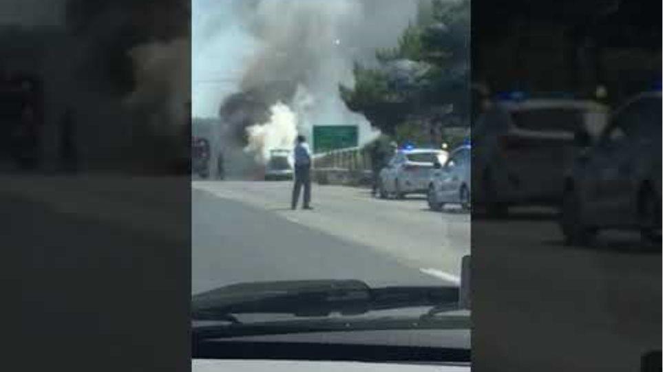 Εθνική οδός -Ατύχημα (1)