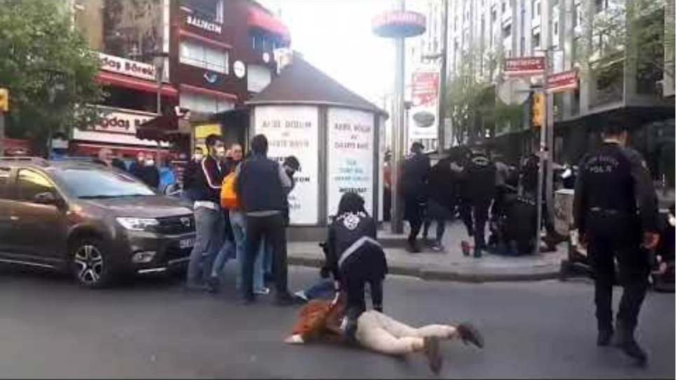 İstanbul'da üniversite öğrencilerinin 1 Mayıs kutlamalarına polis müdahale etti