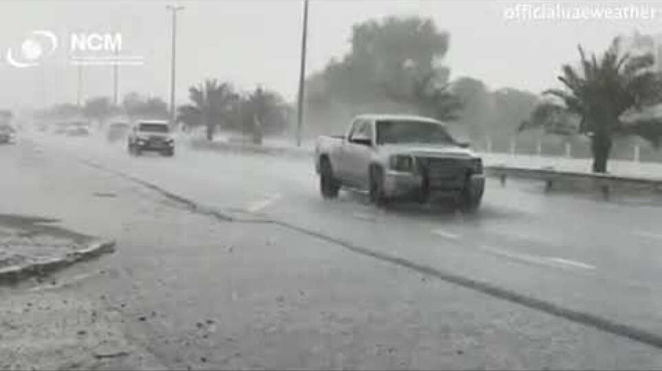 Dubai is making its own fake enhanced rain to beat 122F heat