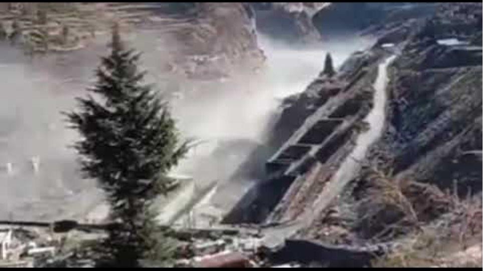 Himalayan glacier bursts in India, triggering flood; villages evacuated