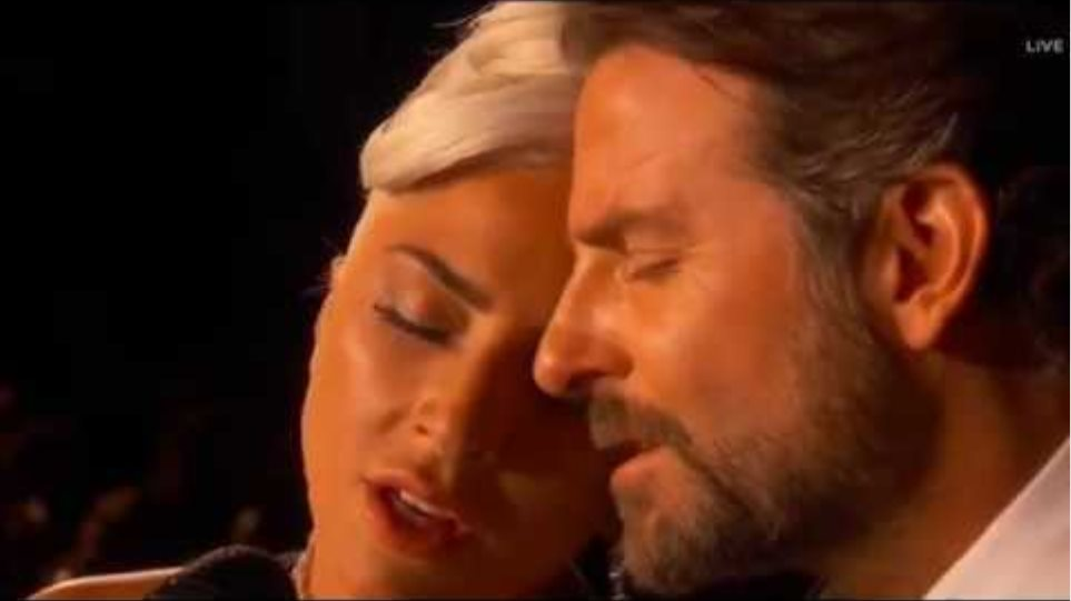 Lady Gaga & Bradley Cooper sings ''Shallow'' at the Oscars 2019