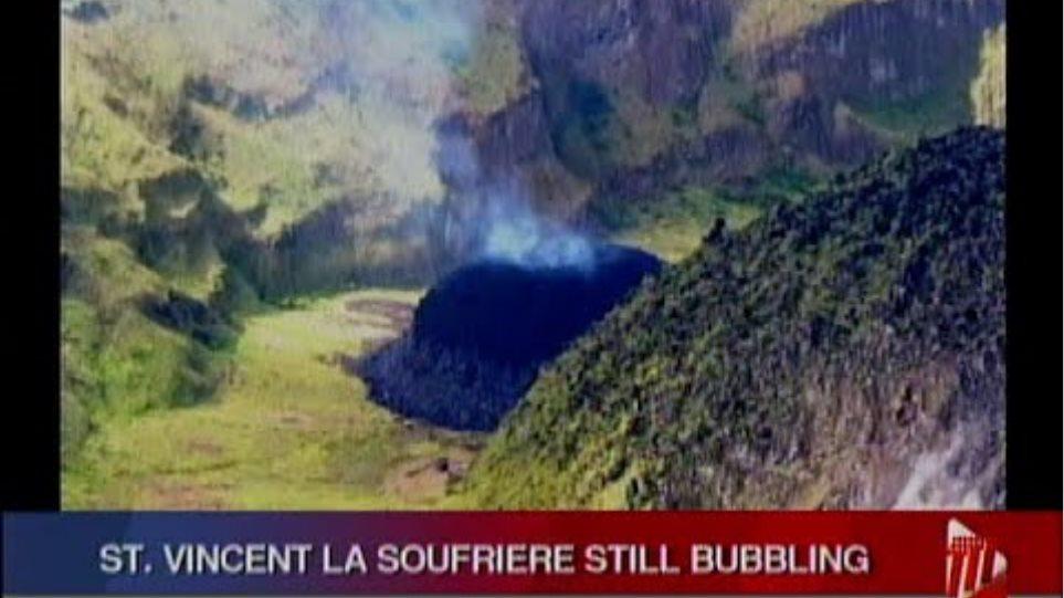 La Soufriere Still Bubbling