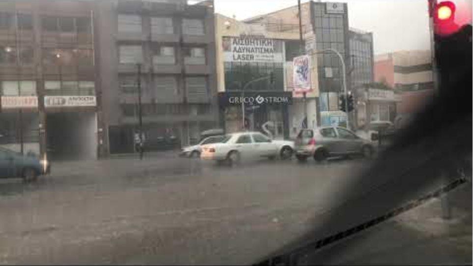 Βίντεο πλημμύρες Αττική