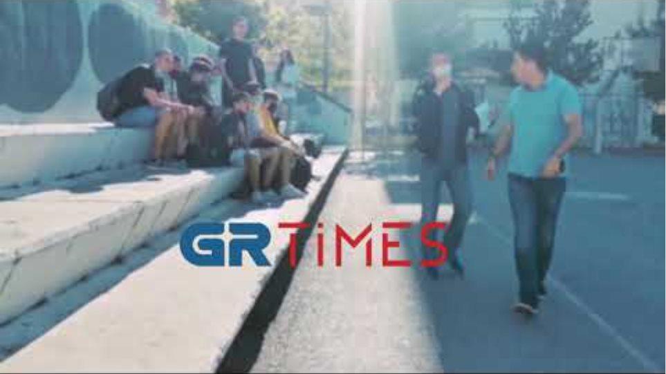 Ένταση γονέας - μαθητές Εύοσμος - GRTimes.gr