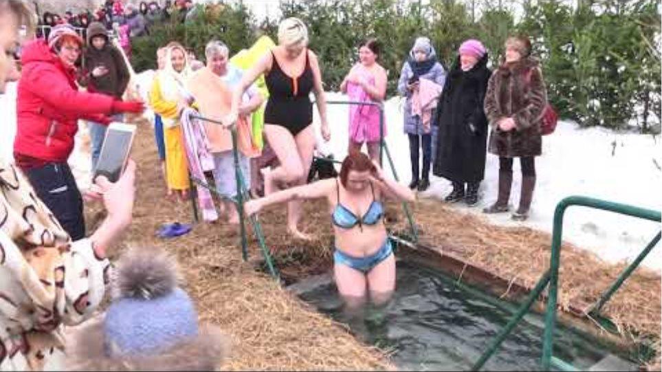 Крещенские купания  2019 Epiphany bathing