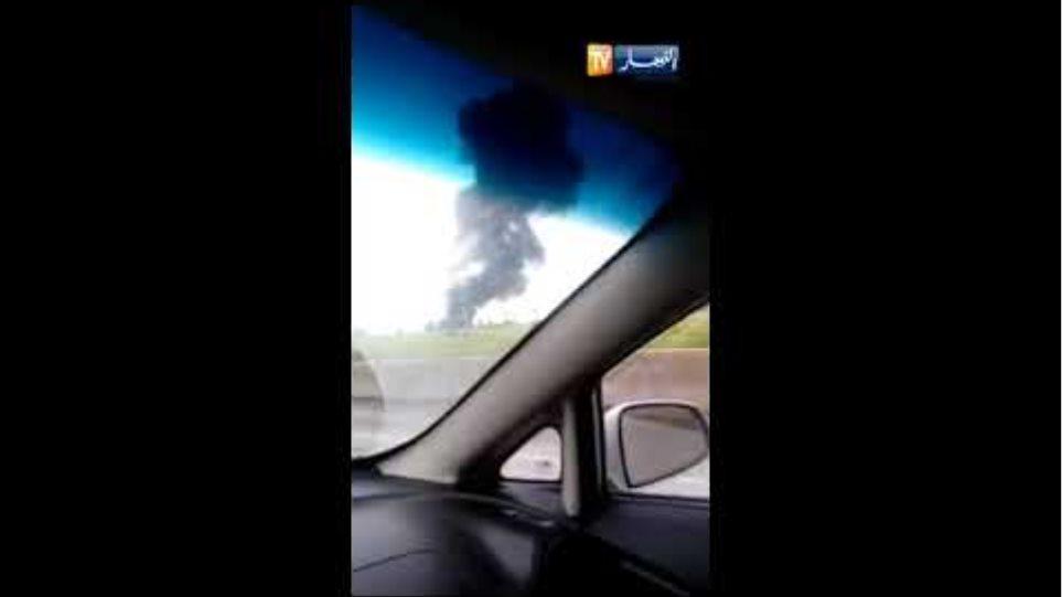 البليدة: سقوط طائرة عسكرية بالقرب من مطار بوفاريك