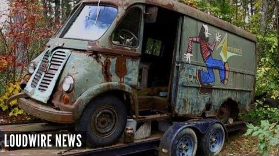 Aerosmith's Original Tour Van Found