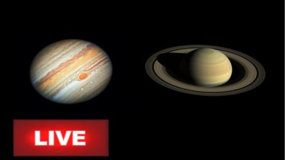 Live Stream The Great Conjunction of Jupiter and Saturn