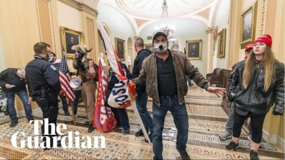 Pro-Trump rioters storm US Capitol during vote on Biden election victory