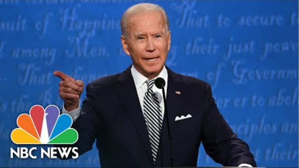 Will You Shut Up Man?': Biden Blasts Trump For Interrupting | NBC News