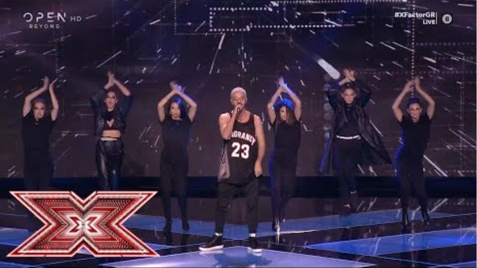 «Talk dirty» από τον Γιώργο Παπαναστασίου | Live 1 | X Factor Greece 2019