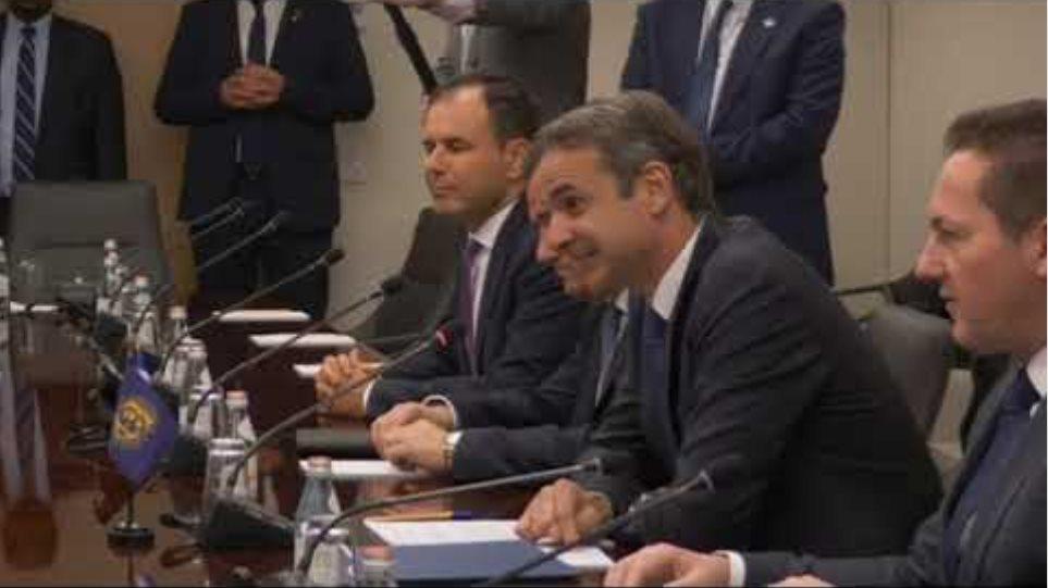 Συνάντηση κ  Πρωθυπουργού με Γεν  Δ ντρια ΔΝΤ