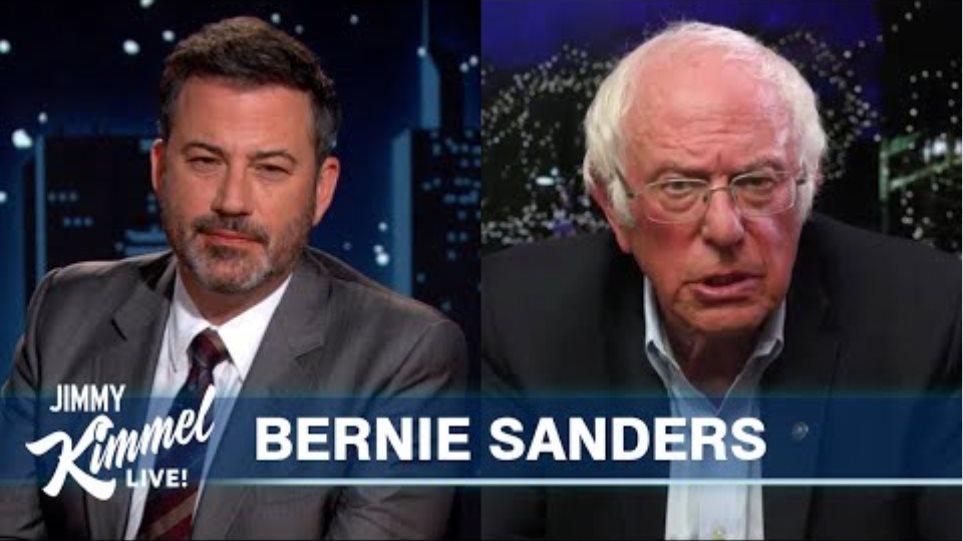 Bernie Sanders Reacts to Trump Biden Debate