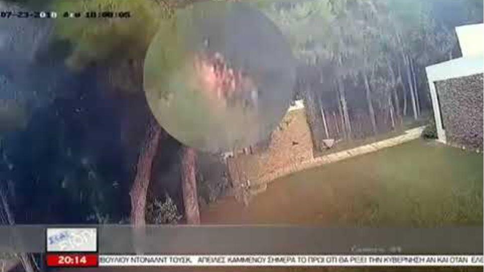 Νέο συγκλονιστικό βίντεο ντοκουμέντο από την πυρκαγιά στο Μάτι