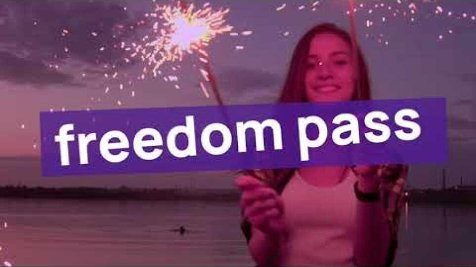 Δείτε το βίντεο για την Κάρτα Ελευθερίας.