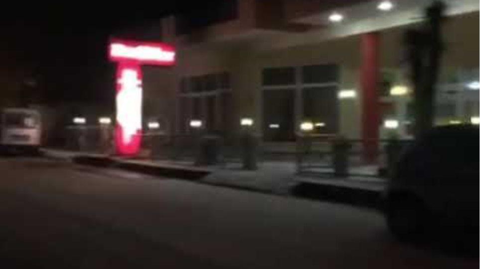 Thestival.gr Χιόνι στον Χορτιάτη