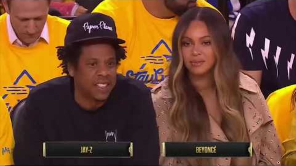 #Beyonce Annoyed After Woman Talks to #JayZ at the #NBA Finals