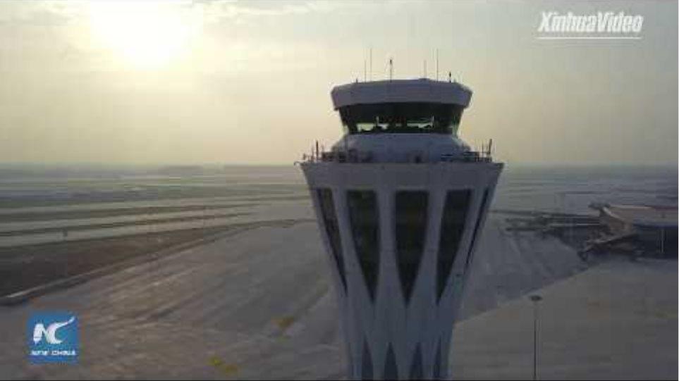 LIVE: First flight departs from Beijing Daxing International Airport