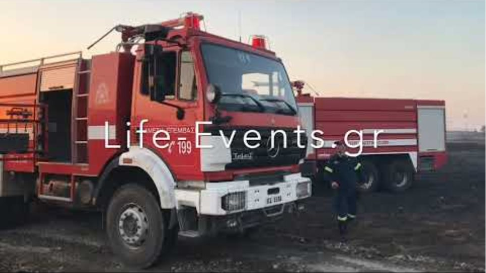 Φωτιά στη ΒΙΠΕ Θεσσαλονίκης - Ενας νεκρός πυροσβέστης