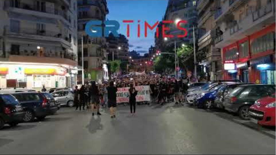 Πορεία αντιεξουσιαστων στη Θεσσαλονίκη - GRTimes.gr