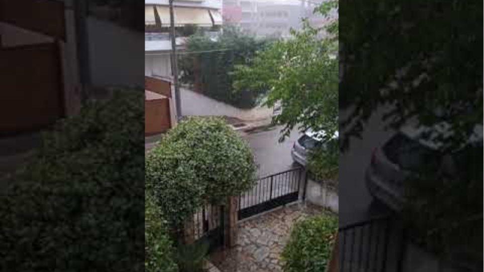 Αγία Παρασκευή - βροχή και κεραυνοί