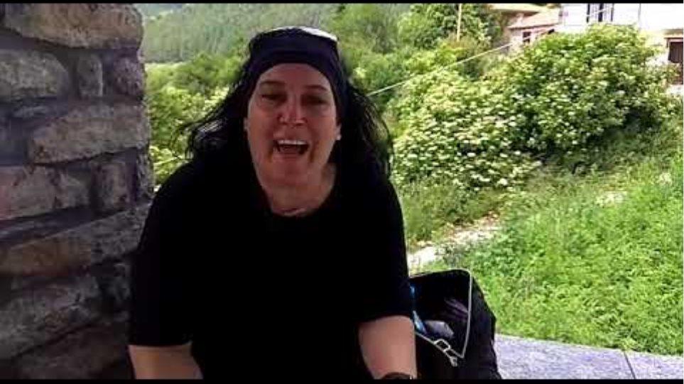 """Το """"κατηγορώ"""" αγανακτισμένης διαδηλώτριας στο Πισοδέρι"""