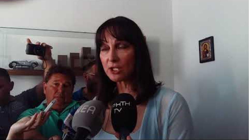 Δηλώσεις Έλενας Κουντουρά στα εγκαίνια των γραφείων των ΑΝΕΛ στα Χανιά