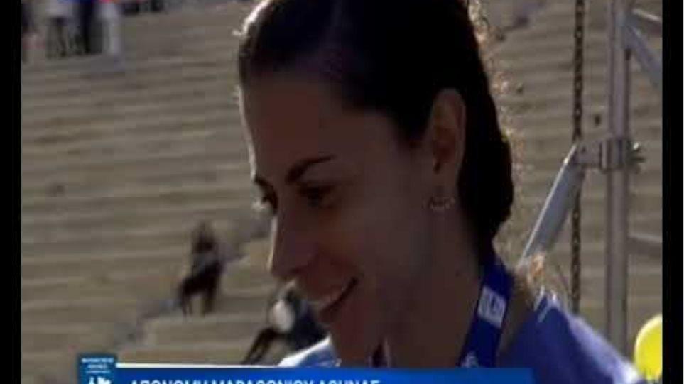 Νικήτριες Πανελλήνιου Πρωταθλήματος Μαραθωνίου - Απονομή μεταλλίων