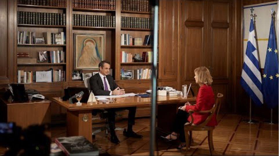 Συνέντευξη Κυριάκου Μητσοτάκη στο κεντρικό δελτίο ειδήσεων του «STAR»