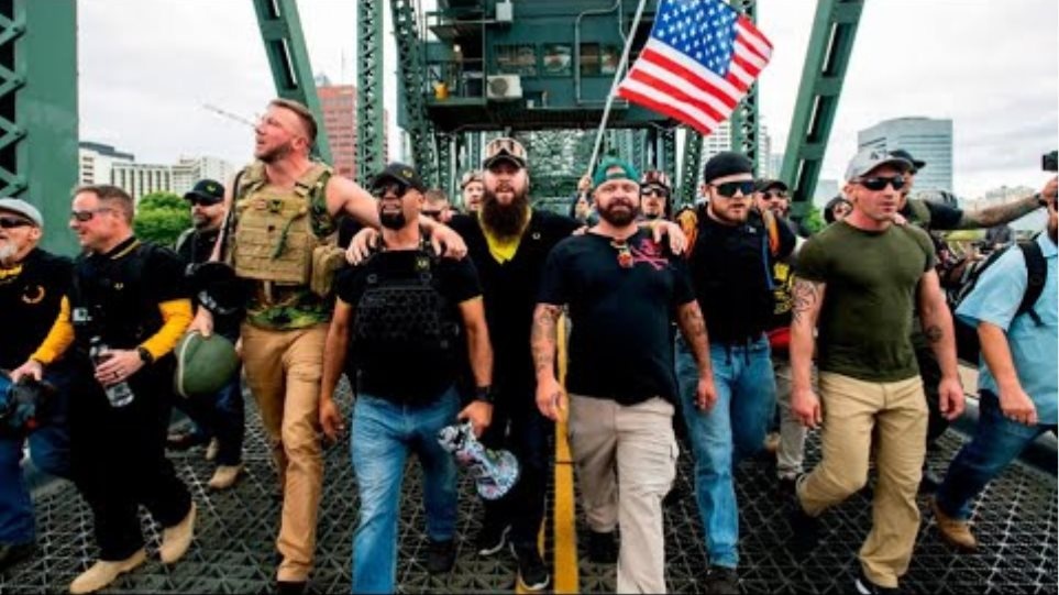 Proud Boys Adopts President Trump's Words as Slogan