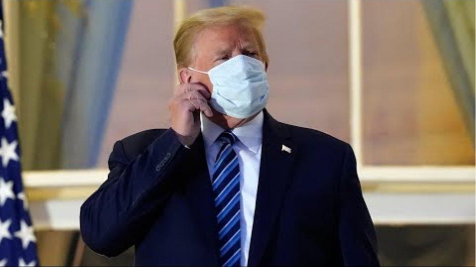 'I feel good,' says Donald Trump as he returns to the White House