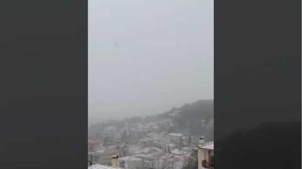 Χιόνια Κοζάνη 9 Απριλίου