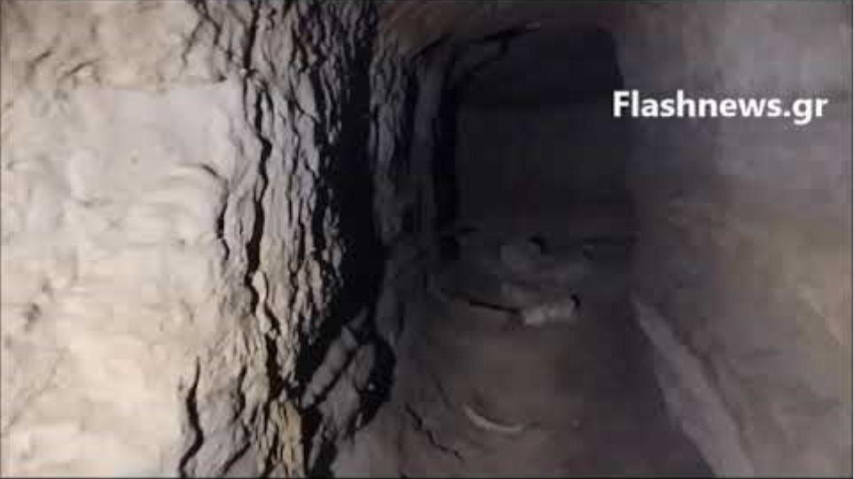 Το τούνελ στο Μάλεμε όπου βρέθηκε νεκρή η Suzanne Eaton