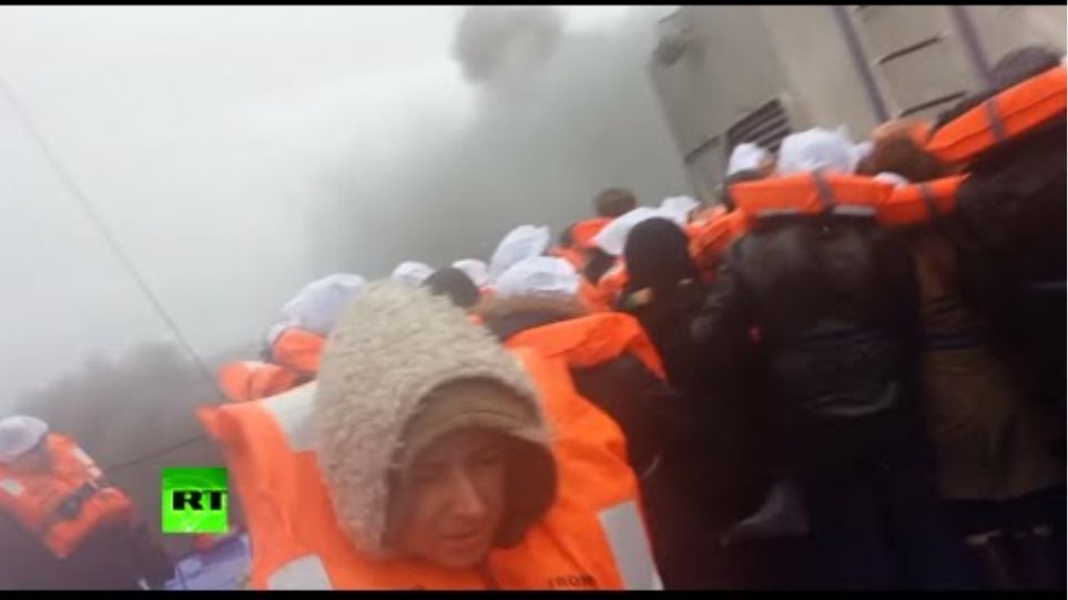 Norman Atlantic ferry passenger films fire, billowing smoke, evacuation