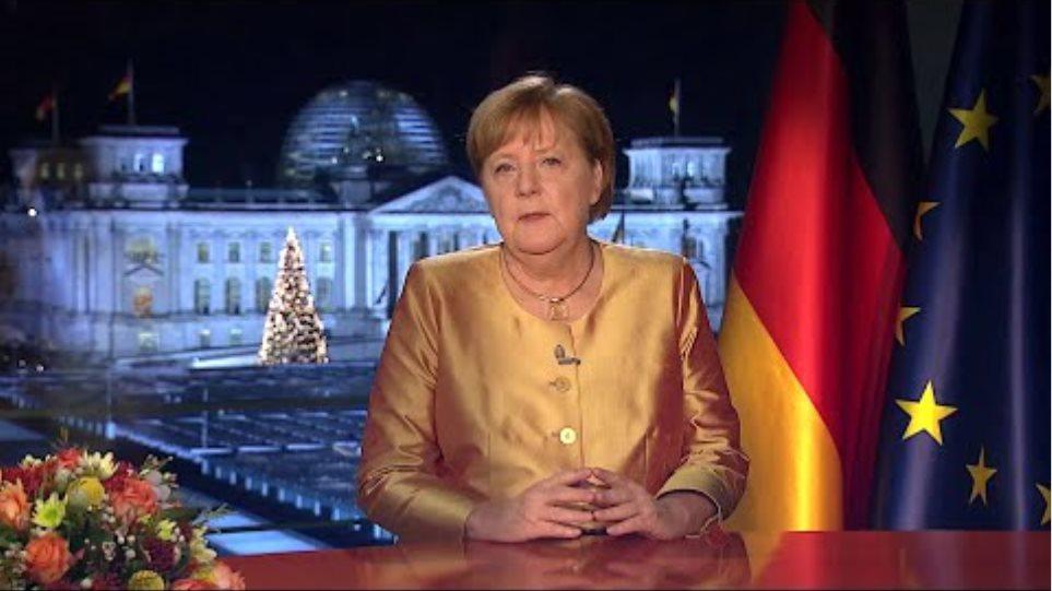Angela Merkel Neujahrsansprache 2021