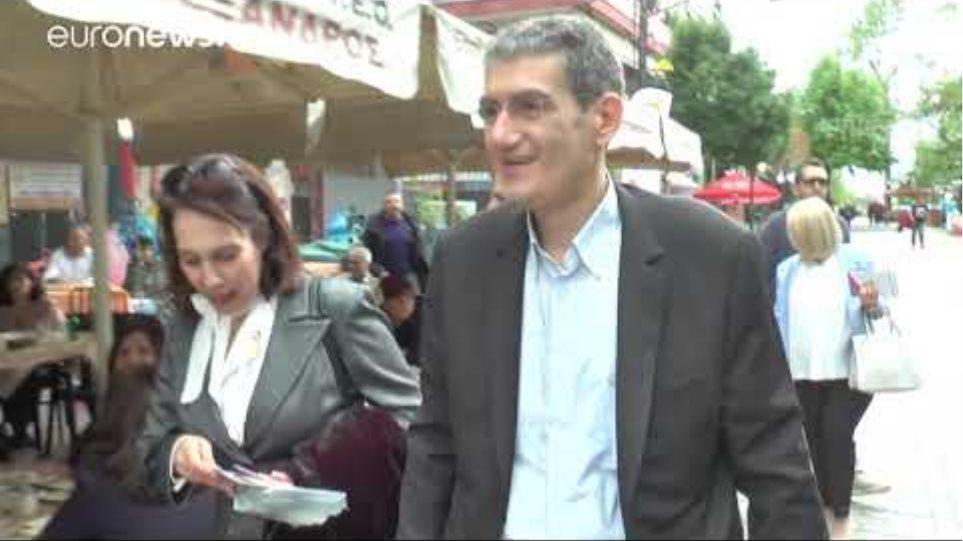 'Εντονες αποδοκιμασίες στον Χρήστο Γιαννούλη στα Γιαννιτσά