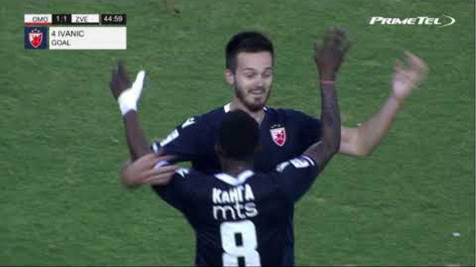 OMONOIA - FK Crvena zvezda 1-1 (16/09/2020)