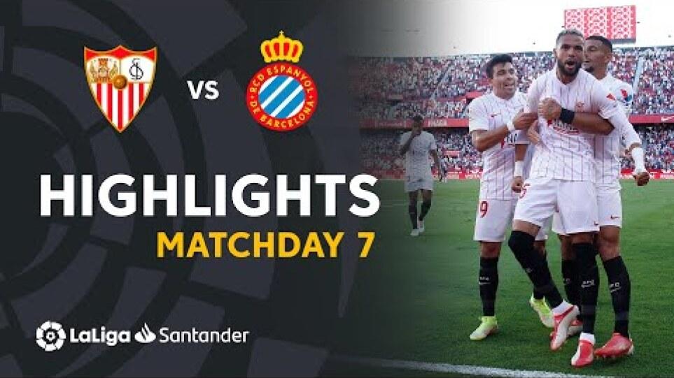 Riassunto della partita tra Siviglia ed Espanyol RCD (2-0)