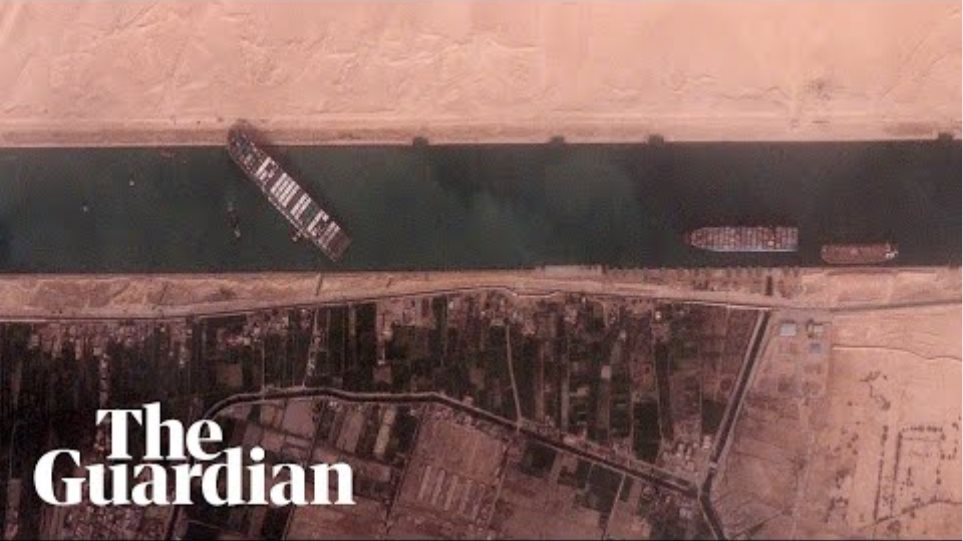 Suez canal blockage: efforts to dislodge Ever Given continue
