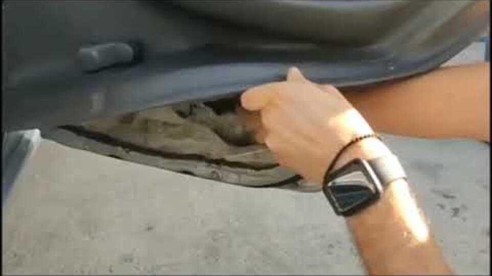 Καλαμάτα: Πυροσβέστης έκρυβε στο αυτοκίνητό του πάνω από ένα κιλό ηρωίνης (video)