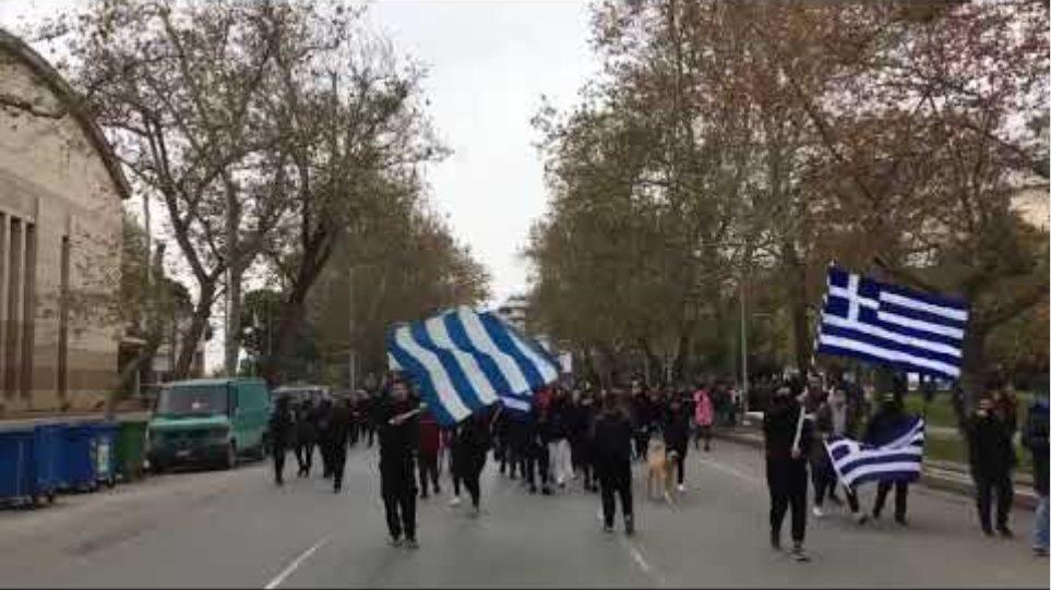 Μαθητικό συλλαλητήριο ενάντια στη Συμφωνία των Πρεσπών- Voria.gr