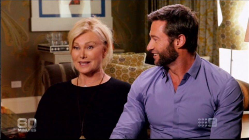 Hugh Jackman and Wife Deborra-Lee Furness (The Wolverine | Logan) (2013)